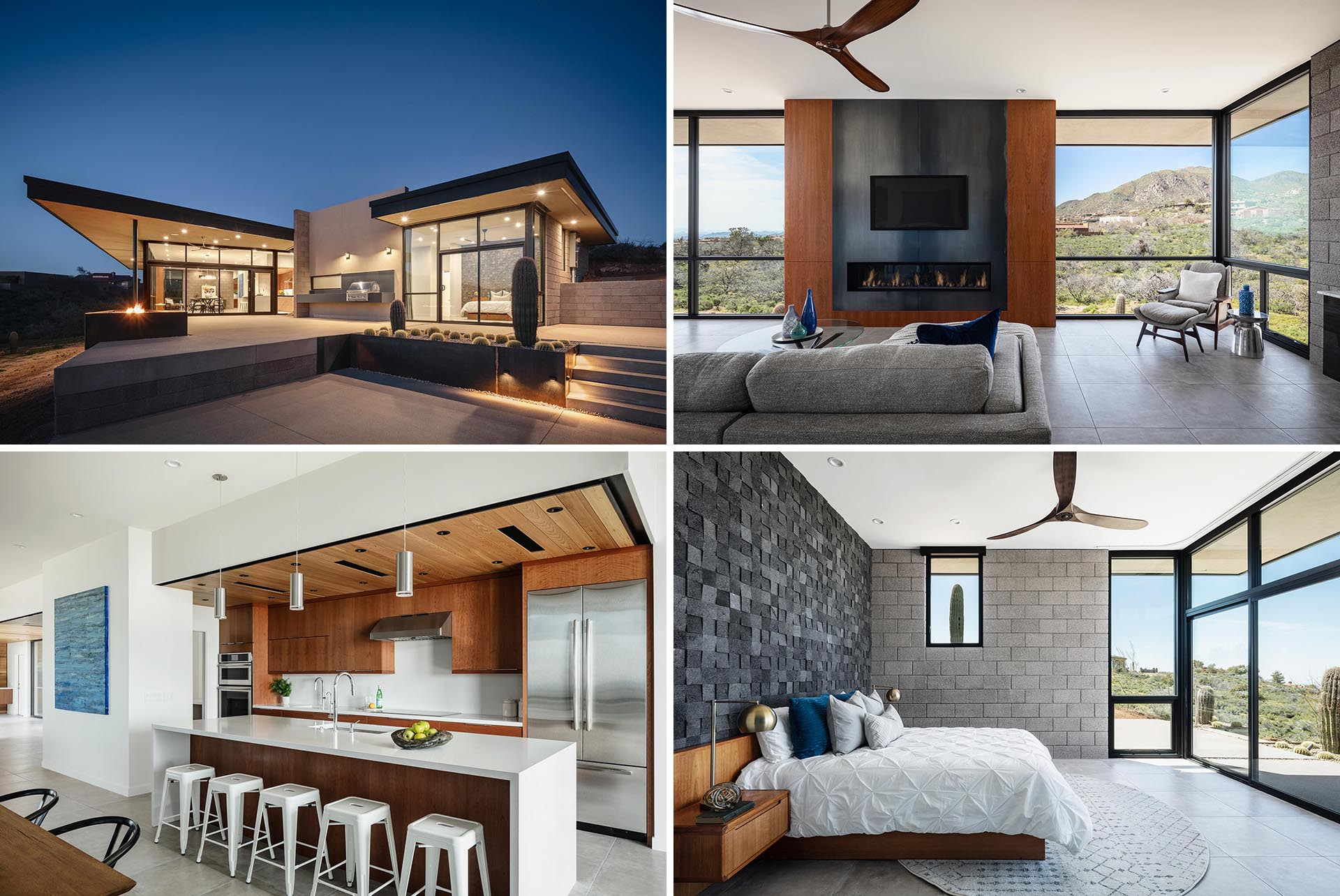 Views Of The Surrounding Desert Were A Design Priority At This Home In Arizona