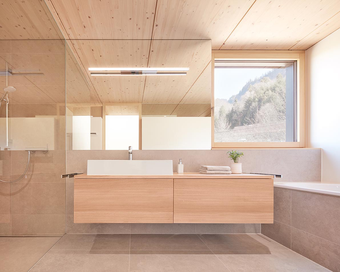 The Light Wood Used Throughout The Interior Of This Duplex Home Keeps It Bright And Modern