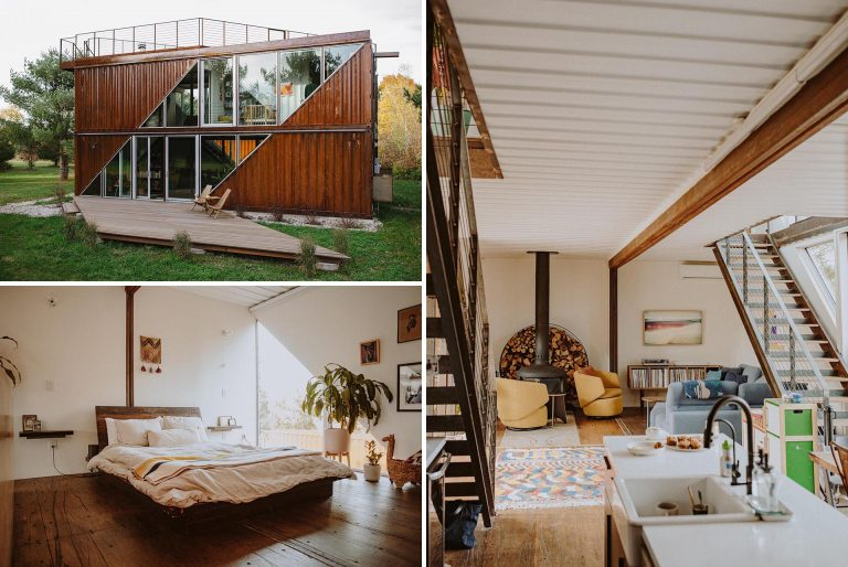 Six Shipping Containers Were Used To Create This Unique Home In New York