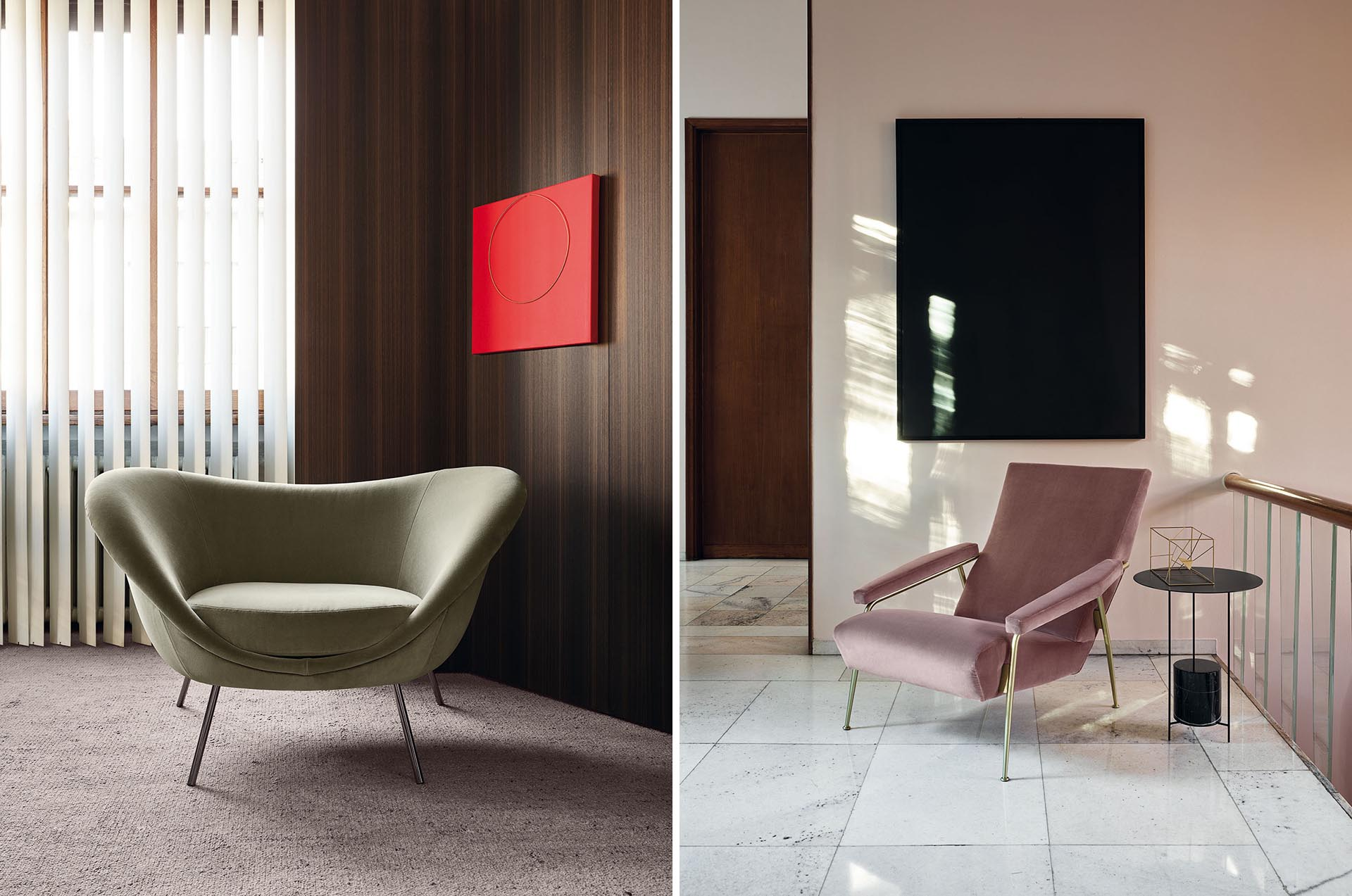 Modern living room furniture designs from Italian company Molteni&C.