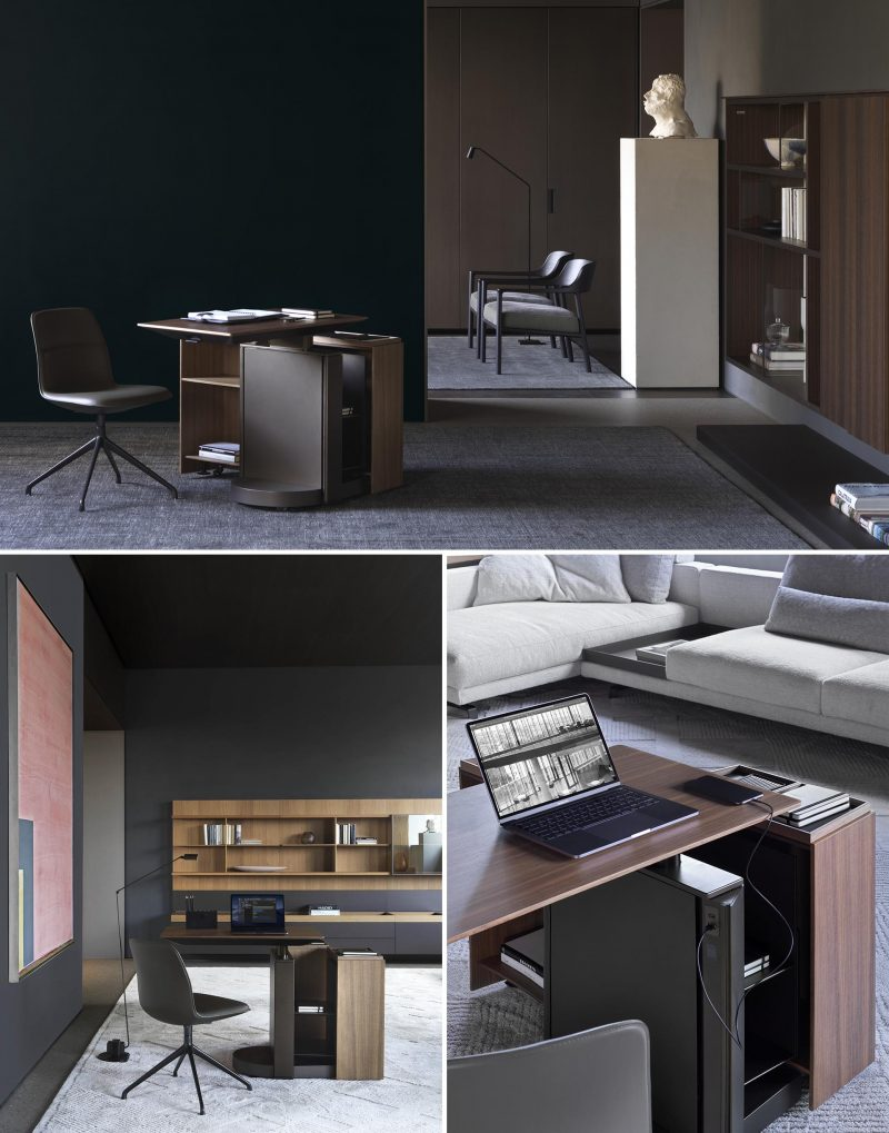 Modern home office furniture designs from Italian company Molteni&C.