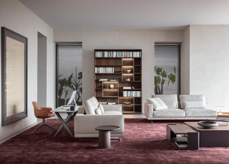 Modern home office furniture designs from Italian company Molteni&C.