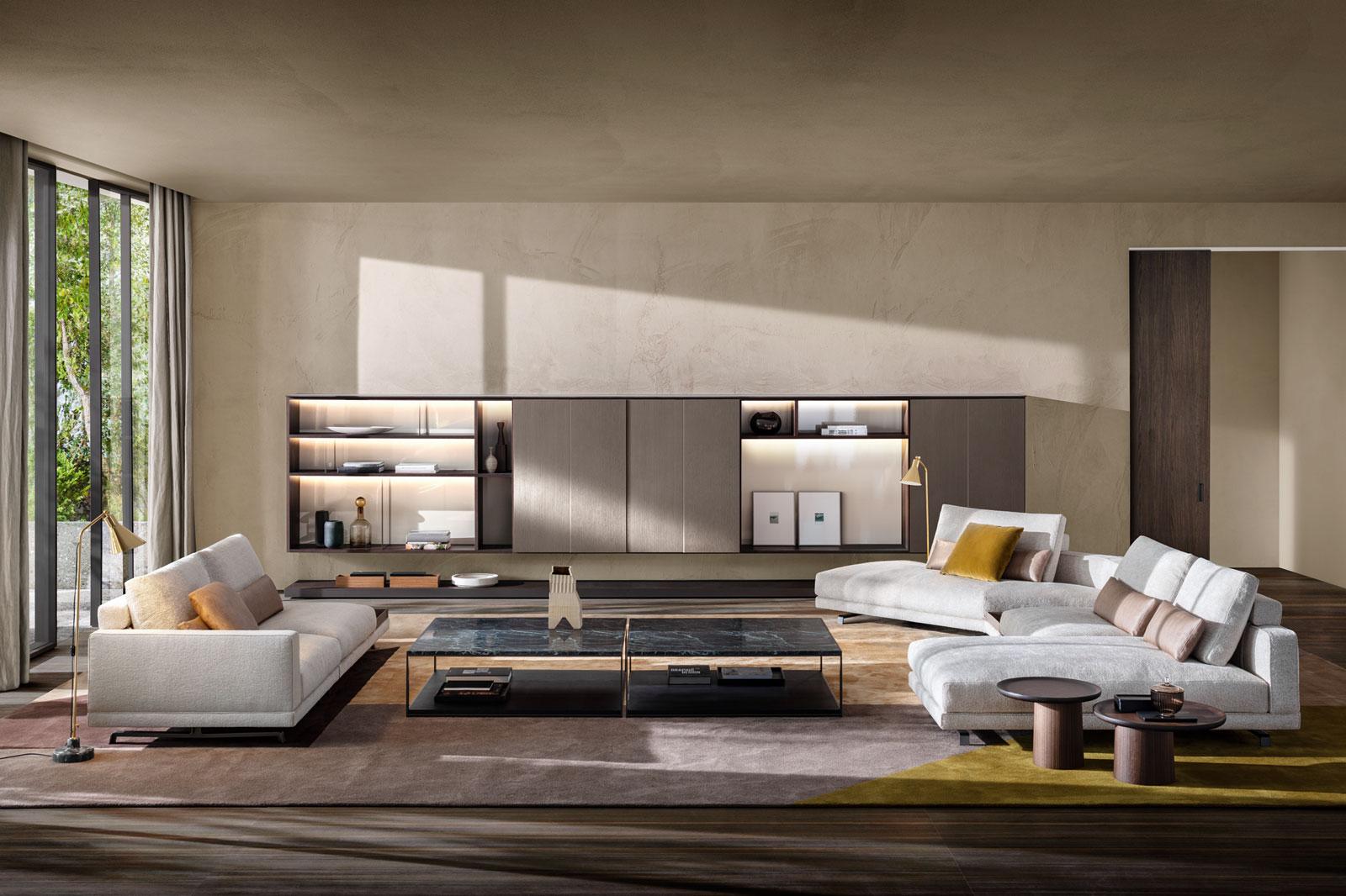 Modern sofa designs from Italian company Molteni&C.