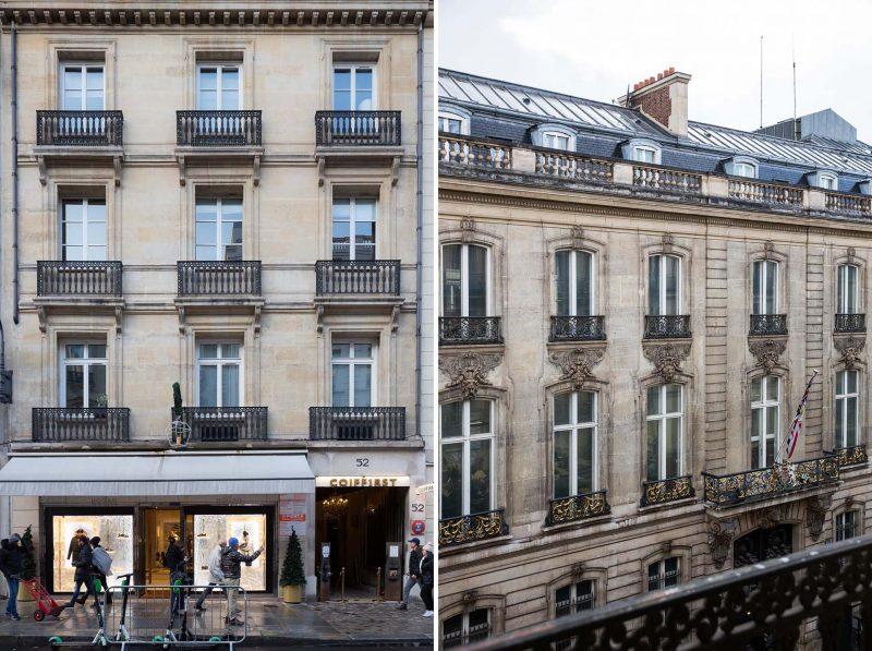A building in Paris, France.