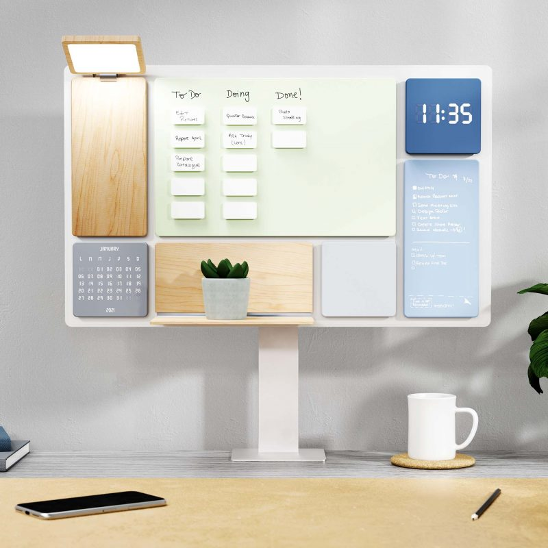 Balance is a multi-functional work and desk manager that inspires a more organized, personalized, and productive work experience.