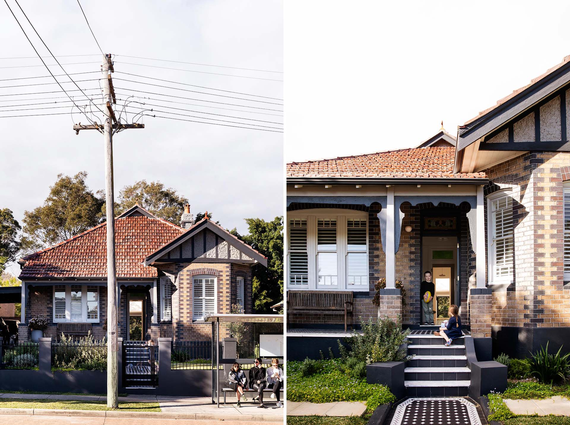 Architecture and interior design firm Studio Prineas, has designed the remodel and restoration of an Australian Federation home, that also included a modern extension.