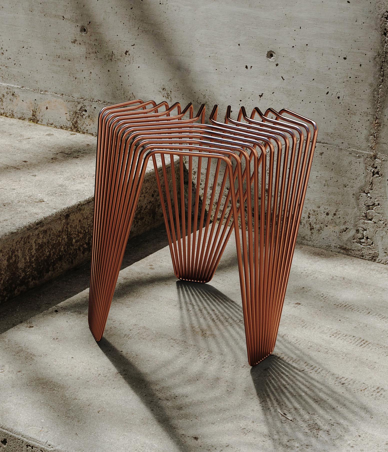 The Vague Stool by Rodrigo Erthal.