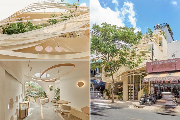 This New Coffee Shop Was Inspired By The Design Of A Bird's Nest