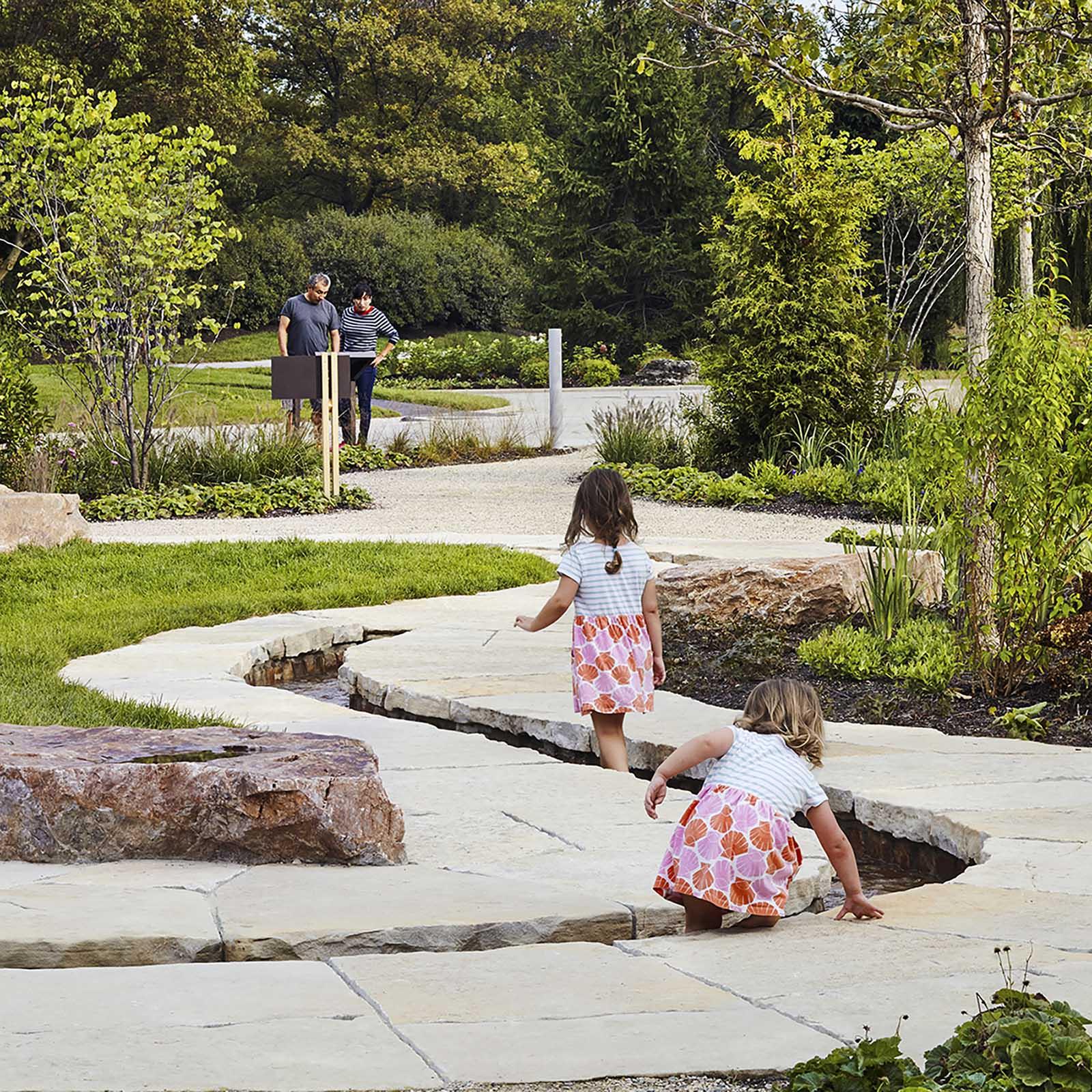 Regenstein Learning Campus Botanic Garden by Mikyoung Kim.
