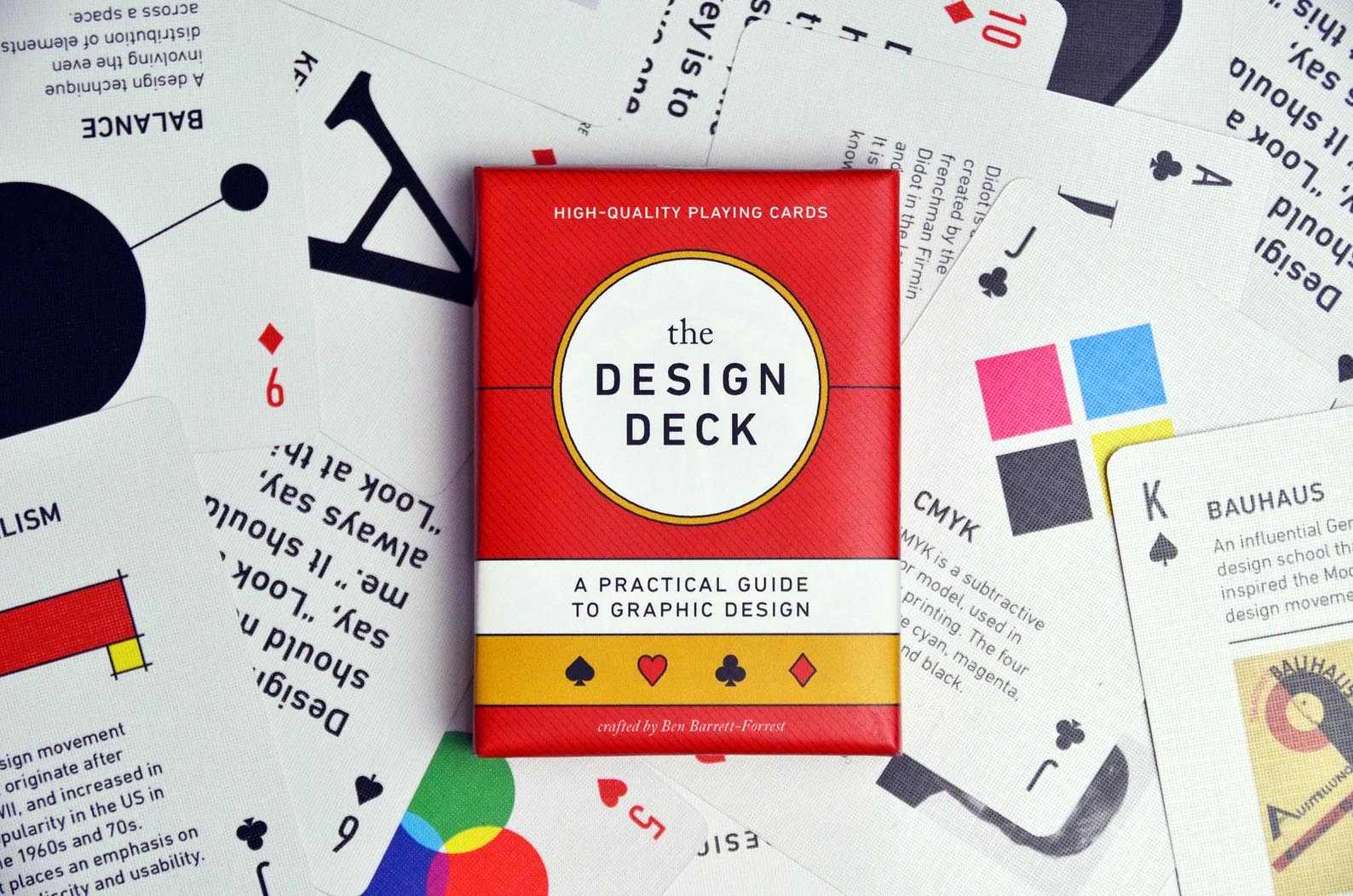 Modern Gift Ideas - The Design Deck playing cards.