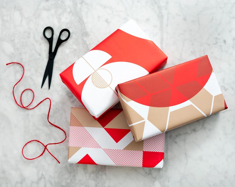 Modern Gift Ideas - gift wrap.