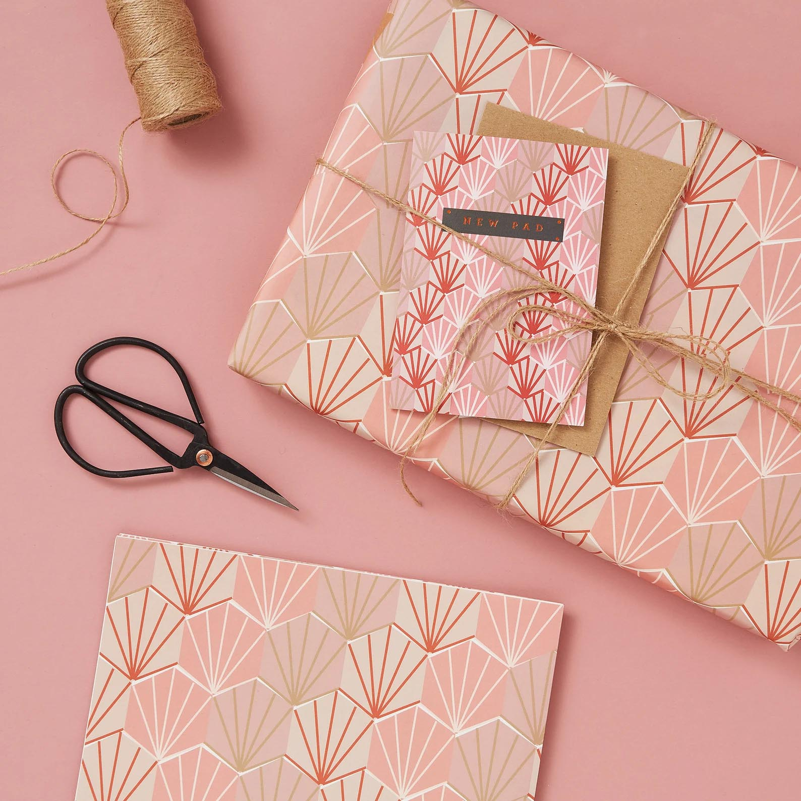 Modern Gift Ideas - Deco Shell Gift Wrap.