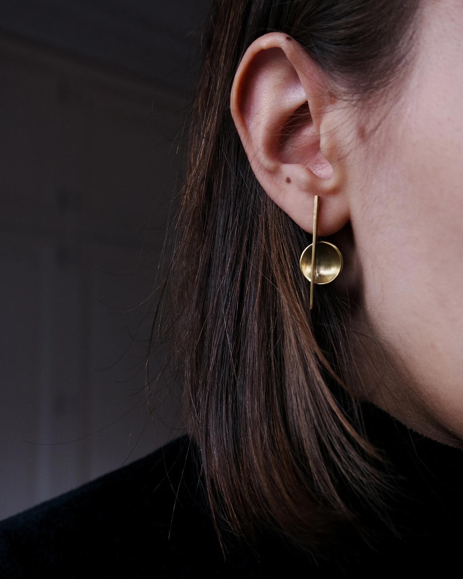 Modern Gift Ideas - Bauhaus inspired earrings.